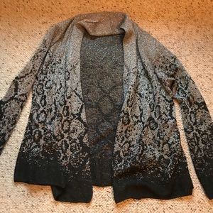 Ladies used once glitter jacket/ cover up